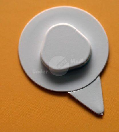 CD-SlimLine-Clip weiß