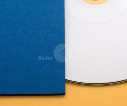 Kartonstecktasche blau