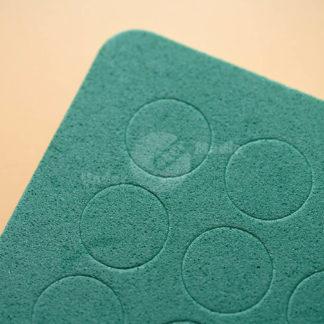 Mossgummipunkt grün