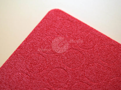 Mossgummipunkt rot