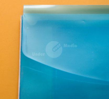 PP-Tasche halbrund blau