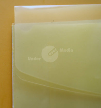 PP-Tasche halbrund gelb