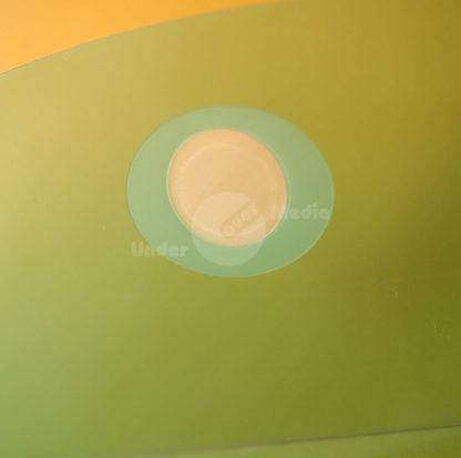 PP-Tasche halbrund grün