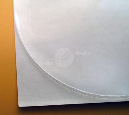 PP-Tasche halbrund transparent