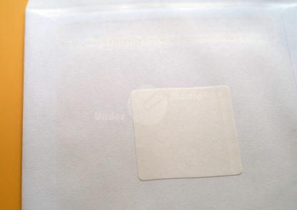 Papiertütchen Rückseitenklebung